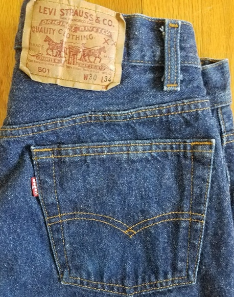 57c032143c5 Levi's Jeans | True Vintage Levis 501 Made Usa Button Fly 27x32 ...